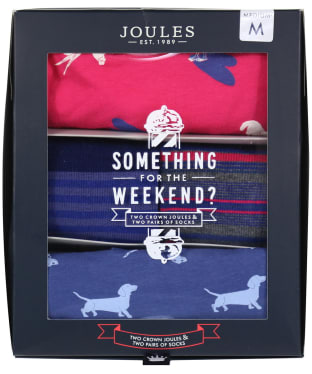 Men's Joules Something For The Weekend Gift Set