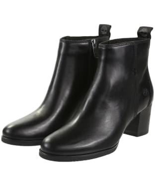 Women's Timberland Eleonor Street Booties - Jet Black