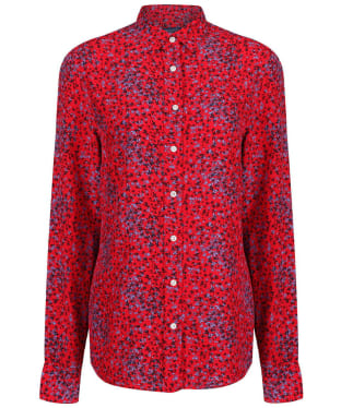 Women's GANT Snowdrop Shirt Blouse - Red