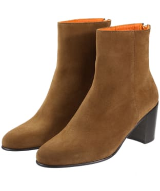 Women's Fairfax & Favor Knightsbridge Boots - Tan Suede