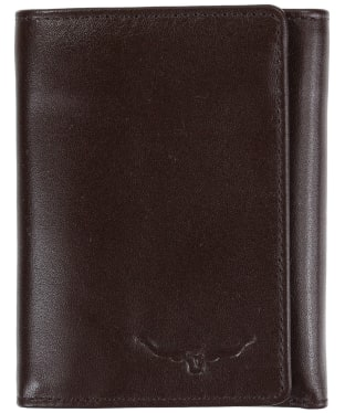 Men's R.M. Williams Small Tri-Fold Wallet - Yearling leather - Chestnut