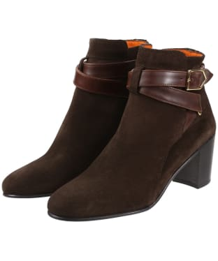 Women's Fairfax & Favor Kensington Boots - Chocolate Suede