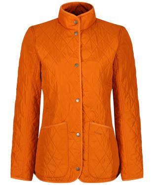 Women's Barbour Combe Polarquilt Jacket - Marmalade