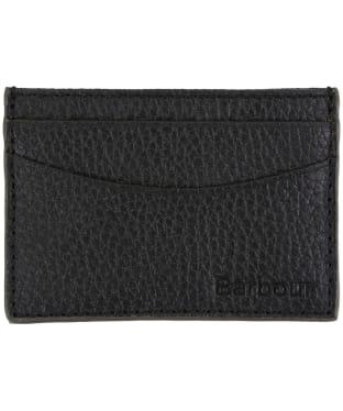 Men's Barbour Grain Leather Card Holder