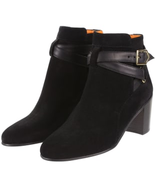 Women's Fairfax & Favor Kensington Boots - Black Suede