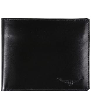 Men's R.M. Williams Tri-Fold Wallet - Yearling leather - Black