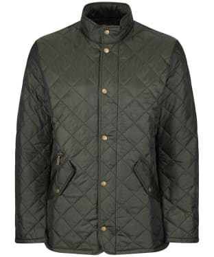 Men's Barbour Flyweight Chelsea Quilted Jacket - Sage
