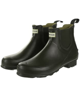Men's Hunter Norris Field Chelsea Boots - Dark Olive