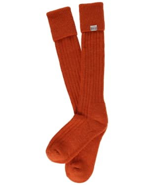 Dubarry Alpaca Socks - Terracotta