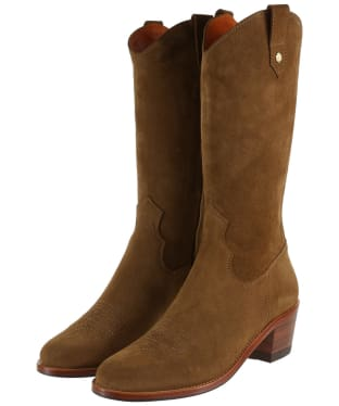 Women's Fairfax & Favor Rockingham Boots - Tan Suede