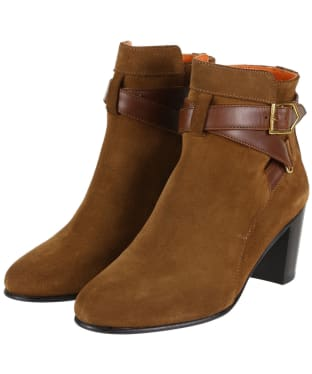 Women's Fairfax & Favor Kensington Boots - Tan Suede