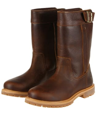 Women's Timberland New Nellie Pull On Waterproof Boots - Light Potting Soil