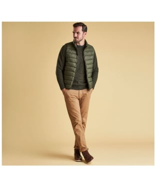 Men's Barbour Bretby Gilet - Olive