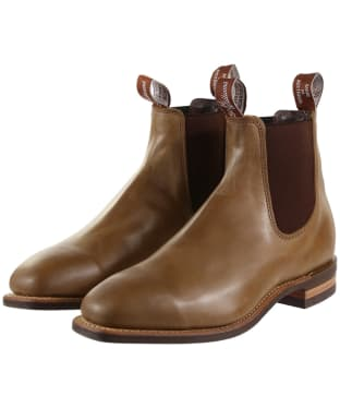 R.M. Williams Comfort Craftsman Boots - Yearling leather, comfort rubber sole - H (Wide) Fit - Nutmeg