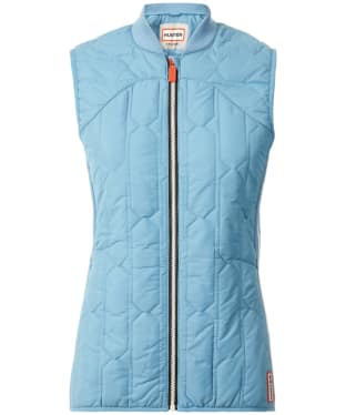 Women's Hunter Original Midlayer Gilet - Pale Blue