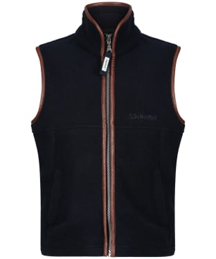 Boy's Schoffel Little Oakham Fleece Gilet, 5-14yrs - Navy