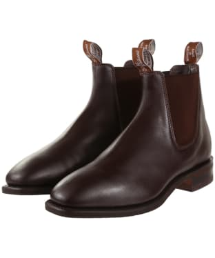 R.M. Williams Comfort Craftsman Boots - Yearling leather, comfort rubber sole - G (Regular) Fit - Chestnut