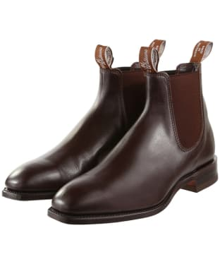 R.M. Williams Classic Craftsman Boots - Yearling leather, classic leather sole - G (Regular) Fit - Chestnut