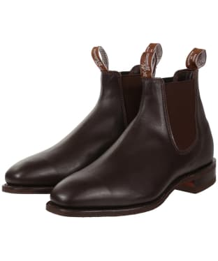 R.M. Williams Comfort Craftsman Boots - Yearling leather, comfort rubber sole - H (Wide) Fit - Chestnut