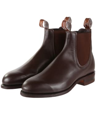 Men's R.M. Williams Comfort Turnout Boots - G Fit - Chestnut