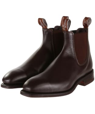R.M. Williams Dynamic Flex Boots - G Fit - Chestnut