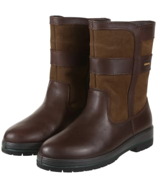 Women's Dubarry Roscommon Leather Boots - Walnut