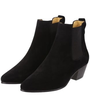 Women's Fairfax & Favor Athena Boots - Black Suede