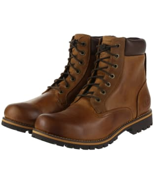 "Men's Timberland Earthkeepers Rugged 6"" Plain Toe Boots - Copper Roughtcut"