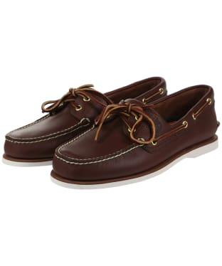 Men's Timberland Classic Boat Shoes - Dark Brown