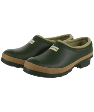 Women's Hunter Gardener Clogs - Vintage Green