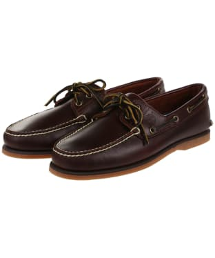 Men's Timberland Classic Boat Shoes - Rootbeer Smooth