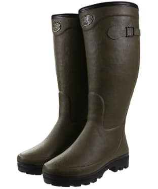 Women's Le Chameau Country Fourree Wellington Boots