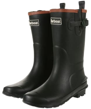 Barbour Kids Simonside Wellington Boots - Olive