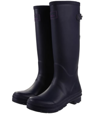 Women's Joules Back Adjustable Field Wellingtons - French Navy