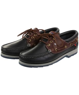 Dubarry Commander Deck Shoes - Navy / Brown