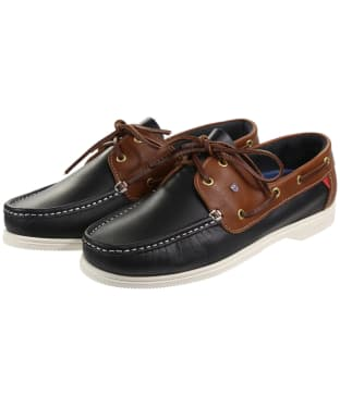 Dubarry Admirals Deck Shoes - Navy / Brown