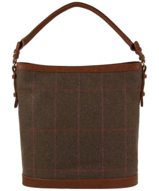 Women's Joules Chesham Tweed Bucket Bag - Hardy Tweed