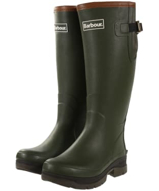 Women's Barbour Tempest Wellingtons - Olive