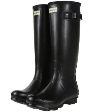 Women's Hunter Norris Field Wellington Boots - Black