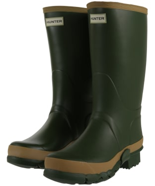 Women's Hunter Field Gardener Boots - Vintage Green