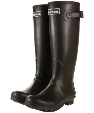 Women's Barbour Bede Wellington Boots - Rustic