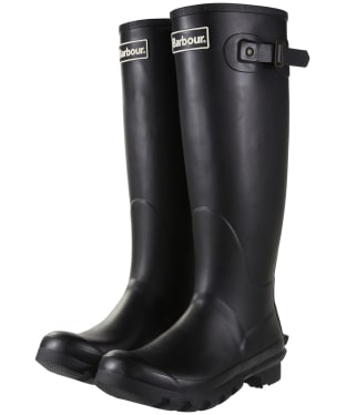 Women's Barbour Bede Wellington Boots - Black