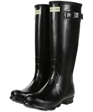 Women's Hunter Field Norris Gloss Wellingtons