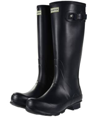 Men's Hunter Norris Field Wellington Boots - Navy
