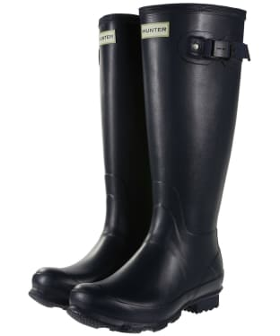 Women's Hunter Norris Field Wellington Boots - Navy