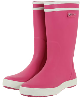 Aigle Children's Lolly-Pop Wellingtons - New Rose