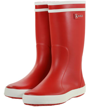 Aigle Children's Lolly-Pop Wellingtons - Red