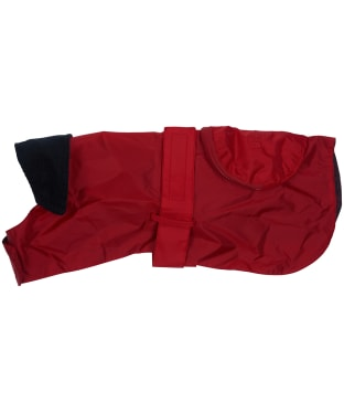 Barbour Waterproof Pack Away Dog Coat - Red