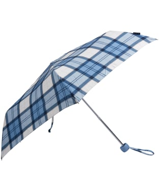 Women's Barbour Portree Umbrella - Faded Blue