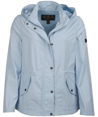 Women's Barbour Deck Casual Jacket - Powder Blue